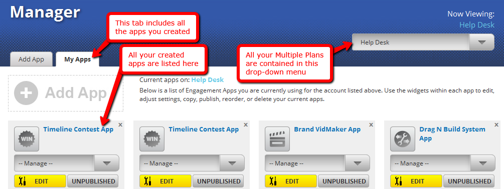 Timeline Contest - Help Desk | TabSite | Promotions Apps to